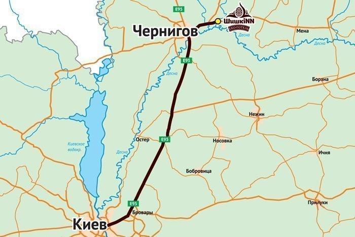 x Карта проезда